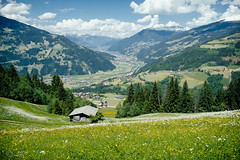 Green Mountains (lr1980) Tags: mountains green grass landscape austria lawn meadow hills berge fujifilm subject xe1