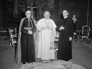 san Josemaría, Juan XXIII y Álvaro del Portillo