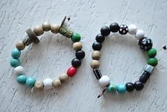 new handmade bracelets (ohlalahydi) Tags: diy beads handmade bracelet
