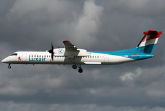LX-LGG (G-650) Tags: dublin luxembourg lux dub dash8 luxair lxlgg