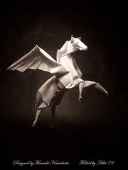 Pegasus (Adri 79) Tags: paper origami pegasus kawahatafumiaki
