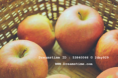 Apple In Basket (2day929) Tags: life red wallpaper food brown holiday apple closeup fruit rural vintage warm soft picnic basket background country retro health apples diet weave blurs 蘋果 wattled automicronikkor55mmf35pc