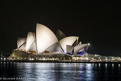 Opera (Oliflyer) Tags: sea mer architecture night bay opera sydney australia nuit couleur australie