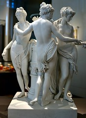 Royal Porcelain Factory, Naples (after Roman original) - The Three Graces (1785-90), Victoria & Albert Museum, Apr 2016 - 2 (ketrin1407) Tags: sculpture statue naked nude erotic sensual va threegraces naples porcelain 18thcentury thalia graces statuette victoriaalbertmuseum figuring euphrosyne aglaia charites late18thcentury