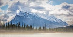 With Your Head in the Clouds (howardpa58) Tags: ca cloud mountain canada rockies alberta banff mountrundle vermilion vermilionlakes lifewithderek improvementdistrictno9 paulhowardphotography