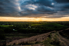 White Coppice (j.r- photography1) Tags: sunset summer england sky sun mountain plant green nature beautiful field grass night clouds landscape outside nikon outdoor hills grassland amateur edit d3200 atmostphere