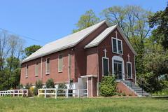 Rossville A.M.E. Zion Church, Woodrow (New York Big Apple Images) Tags: newyork church row methodist statenisland ame