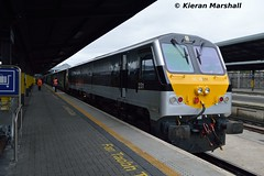231 at Heuston, 20/5/16 (hurricanemk1c) Tags: dublin irish train gm rail railway trains enterprise railways irishrail 201 generalmotors 231 heuston 2016 emd iarnrd ireann iarnrdireann 0920corkheuston