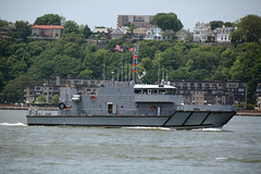 Picture Of The U.S. Naval Academy Yard Patrol Craft (YP707)  Participating In The 2016 New York City Parade Of Ships To Mark The Start Of 2016 Fleet Week In New York City. Photo Taken Wednesday May 25, 2016 (ses7) Tags: nyc yard us week fleet academy naval patrol craft2016