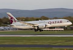 Qatar A7-BCZ 3-5-2016 (Enda Burke) Tags: man airplane manchester aviation engine doh doha qatar manchesterairport 787 b787 egcc qatarairways dreamliner 7878 avgeek boeing787 omaa boeingdreamliner b7878 a7bcz