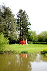 Chateaubourg Ar Milin - atana studio (Anthony SJOURN) Tags: street wood red sculpture house green art fall water grass sign metal plaque garden studio rouge spring cabin rust brittany eau iron phone ar telephone tube jardin bretagne vert sit anthony maison printemps egout bois cabane bitume ceramique monumental bassin rouille artiste milin asphalte feuillage atana sjourn chateaubourg gourdron