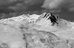 Alpine Mono (Wipeout Dave) Tags: winter snow mountains alps landscape skiing panasonic alpine valthorens lumixdmctz6 wipeoutdave davidsnowdonphotography djs2016
