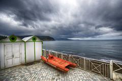 Chiaolella, Procida (FedeSK8) Tags: winter beach clouds mediterraneo campania procida lido sigma1020mm campiflegrei fedesk8 federicoscotto nikond7000