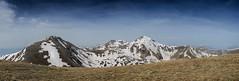 Snowy peaks (Gadjowsky) Tags: panorama mountain mountains landscape nikon hiking pano exploring peak panoramic explore macedonia photomerge landschaft shara nikond5100