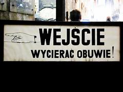 Wrocaw (isoglosse) Tags: sign poland polska schild polen sansserif wrocaw breslau znak kreska manicule u0106 u015a