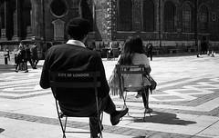 City of London (AndreArma) Tags: street leica blackandwhite london film 50mm voigtlander hp5 ilford m6 nokton guildhall
