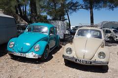 Toulon - Mont Faron (Aelo de la Krotsche) Tags: toulon montfaron vw coccinelle vocho bug beetle kfer