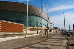 Echo Arena, Liverpool (Zaphod Beeblebrox 1970) Tags: uk england building architecture liverpool waterfront echo arena architektur gebude