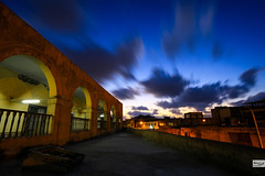Color Long Exposure (Hossam Ghaith) Tags: night 500px aputure ef 1740mm f4l usm 6d nature landscape canon long exposure photography blue cloud sky nightscape window lights skyline egypt alexandria yellow mosque raw sundown eos cloudscape shutter hossam ghaith apture middle east me