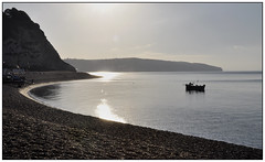 Morning tide (geoff7918) Tags: beach beer crabpots