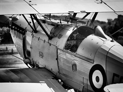 Hawker Nimrod (davepickettphotographer) Tags: theshuttleworthcollectionuk shuttleworthcollection airshow bedfordshire oldwarden uk beds biggleswade aircraft aviation vintage biplanefighteraircraft hawker nimrod