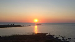 Sunrise on Lake Balkhash. Kazakhstan. May 2016 (nikolasrybin) Tags: morning sunset sun lake apple water traveling kazakhstan iphone 2016 balkhash iphone5s