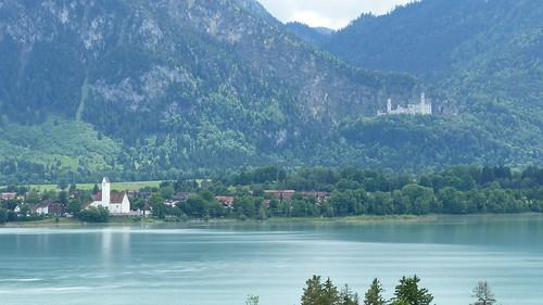 Forggensee, Schwangau und Neuschwanstein