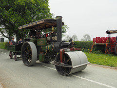 Lady Hesketh (Ben Matthews1992) Tags: old party england vintage shropshire britain transport traction engine convertible historic steam roller vehicle preserved 1922 porter preservation haulage 2016 gnd aveling 9264 salop maesbrook kinnerley 4nhp ladyhesketh ej966