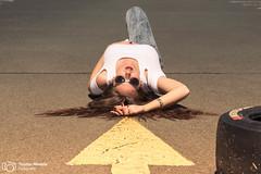 Tyres | Model: Bahar ztrk (thendele) Tags: portrait people woman sexy girl face female cool model gesicht shoot outdoor shooting frau carpark parkplatz modell mdchen tyres parkhaus parkingplace parkdeck reifen hankook