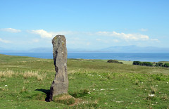 Standing stone (Rodents rule) Tags: scotland highlands standingstone eigg