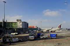 Qatar Airways A320 (A. Wee) Tags: airport poland airbus warsaw chopin airways qatar a320