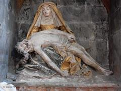 Carcassonne - La Cit - Eglise Saint-Nazaire (Fontaines de Rome) Tags: saint cit carcassonne eglise nazaire piet eglisesaintnazaire