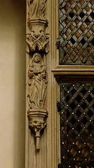 Cappenberg, Westfalen, Stiftskirche, reliquary cupboard, detail (groenling) Tags: saint stone germany de deutschland stonecarving carving nrw stein tabernacle westfalen stiftskirche heilige nordrhein cappenberg annaselbdritt reliquarycupboard sakramentsundrequienschrank