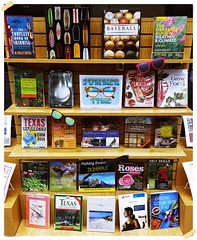 Summer Time Book Display (The COM Library) Tags: 2016 comlibrary collegeofthemainland collegeofthemainlandlibrary com college summer gardening fishing baseball golf barbecue bbq bookdisplay books book canoe camping surfing swimming lifeguard farming porchliving growfood