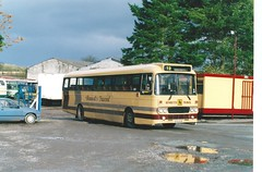 BennettsY Type (The independent bus man) Tags: school bus coach y cranberry leopard type contract alexander staffordshire leyland bennetts