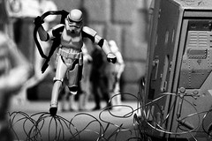 15/52 | TK-456 Leaping Barbed Wire for Freedom (egerbver) Tags: david berlin wall germany toy toys star eger days peter clones stormtrooper recreation wars 365 weeks clone conrad remake 52 hasbro schumann redo recreate leibing