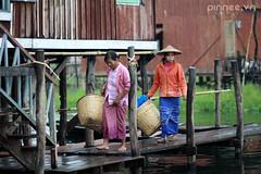Inle women (pinnee.) Tags: asia southeastasia burma myanmar inlelake inle burmese mmr nyaungshwe burmesewomen asiaimages southeastasiaimages miếnđiện