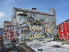 Roof-Top Wednesdays (Lurk Daily) Tags: pez graffiti bay san francisco iron area bkf igu euroe wfk zenphonik
