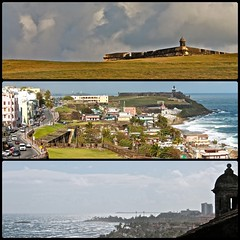 Castillo San Felipe del Morro (vadim.klochko) Tags: old city travel cruise vacation urban sculpture usa cats streets color colour castle history texture tourism beautiful bicycle architecture canon landscape island calle colorful waterfront rooftops cathedral bright oldsanjuan puertorico fort details culture catedral panoramic historic atlantic roofs sanjuan spanish walls fortress narrow atlanticocean antic cultural vadim sentry caribbeansea atlanticcoast архитектура цвет sentrybox путешествия история отпуск туризм картинки канон зарисовки культура композиция палитра круиз триптих диптих памятникиархитектуры klochko фототуризм vadimklochko вадимклочко несколькокадров
