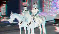 3D Inverted Mounted Police Women (Gamma Man) Tags: virginia 3d anaglyph richmond va finepix fujifilm ric inverted richmondva richmondvirginia rva invert w3 carytown ejc real3d 3dphotography 3dphoto 3dphotos invertedphoto fujifilm3d finepix3d fujifilmfinepix3d carytownva anaglyphphoto carytownvirginia elijahjameschristman anaglyphphotos fujifilmw3 fujifilmfinepixreal3dw3 anaglyphphotograph fujifilmfinepixreal3d finepixw3 fujifilmfinepixw3 finepixrealw3 fujifilmfinepixrealw33d 3dinversion inverted3d 3dinvert elichristman elijahchristman elichristmanrva