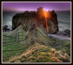 Dunnottar Castle - Sunrise, Stonehaven, Aberdeenshire, Scotland. (PeskyMesky) Tags: castle scotland aberdeenshire aberdeen dunnottar stonehaven dunnottarcastle mygearandme mygearandmepremium mygearandmebronze mygearandmesilver mygearandmegold mygearandmeplatinum dunnottarcastlesunrise