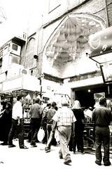 Tehran, Bazar  بازار تهران ورودی غربی مسجد شاه (Parisa Yazdanjoo) Tags: tehran bazar بازار تهران shahmosque tehranbazar مسجدشاه بازارتهران
