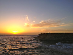 Sonnenuntergang am little Brother (chipmonk) Tags: sunset sea sonnenuntergang brothers redsea egypt diving 2012 brandung rotesmeer tauchsafari