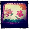Flower Cake (louda.) Tags: flower cake frosting pipping cakeclass bakingbreadmaking creamdecorating