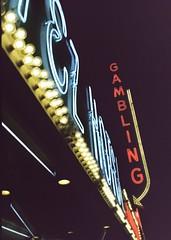 Gambling (squared2x) Tags: old vegas signs gambling vintage lights downtown neon lasvegas strip elcortez