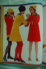 More shocking colors! (<Vicky's Flicks>) Tags: fashion vintage 60s retro 1967 1960s magazines sixties seventeen