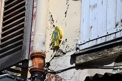 Tarek (Ausmoz) Tags: street girls boy urban woman streetart paris men art girl collage wall collages femme installation walls rue mur murs homme installations urbain tarek