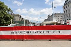 photoset: forum festwochen: Österreicher,integriert Euch! - god´s entertainment (31.5.-16.6.2012, versch. Orte in Wien)