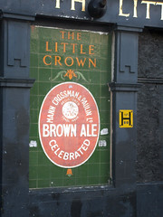 The Little Crown, Rotherhithe (selcamra) Tags: camra brownale manns crossman londonpubs deadpubs watneys selcamra littlecrown rotherhithepubs tiledadverts