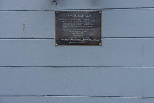 Streets Of Belfast - Memorial To James Larkin